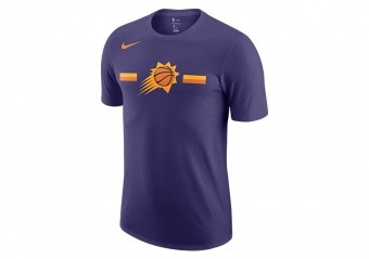 NIKE NBA PHOENIX SUNS LOGO DRY TEE NEW ORCHID
