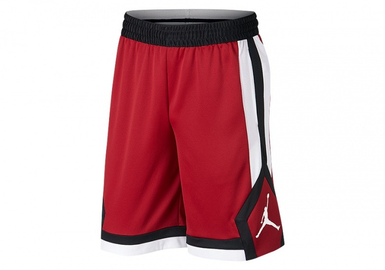NIKE AIR JORDAN RISE 1 DRY SHORTS GYM RED