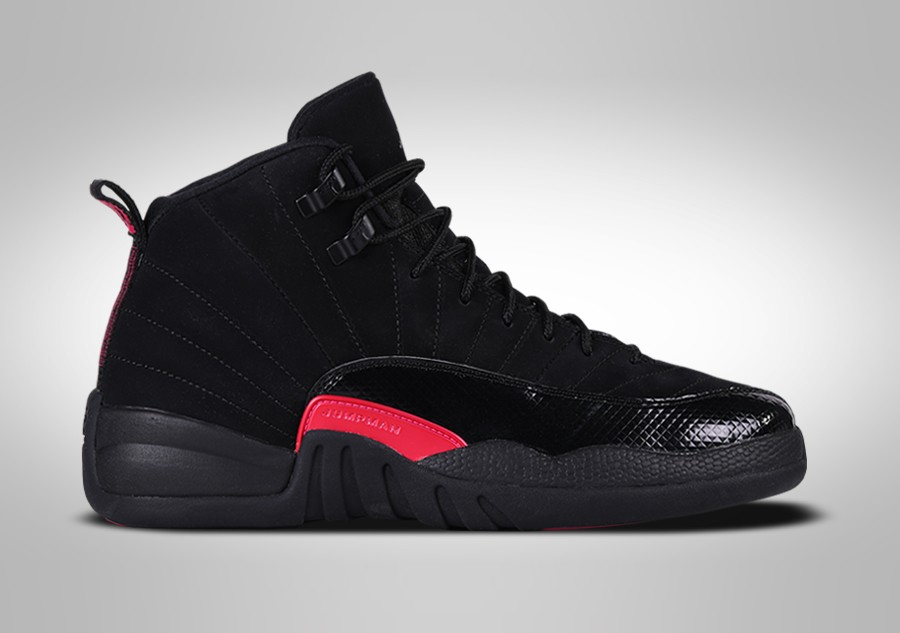 save off 66e6f 51877 NIKE AIR JORDAN 12 RETRO BLACK RUSH PINK GG price €137.50   Basketzone.net