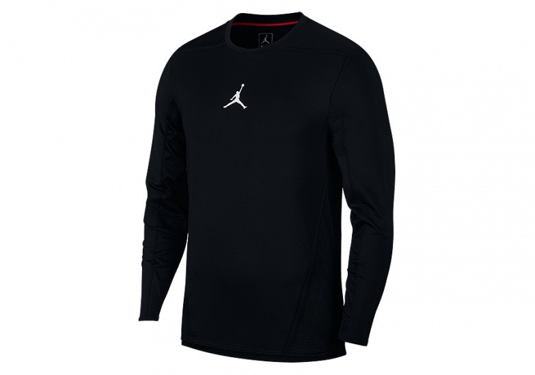 NIKE AIR JORDAN ULTIMATE FLIGHT SHOOTING SHIRT BLACK