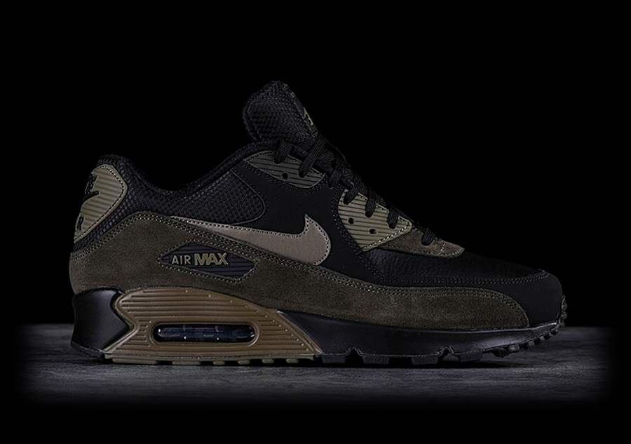 hot sale online 56c61 f1b64 NIKE AIR MAX 90 LEATHER MEDIUM OLIVE pour €129,00   Basketzone.net