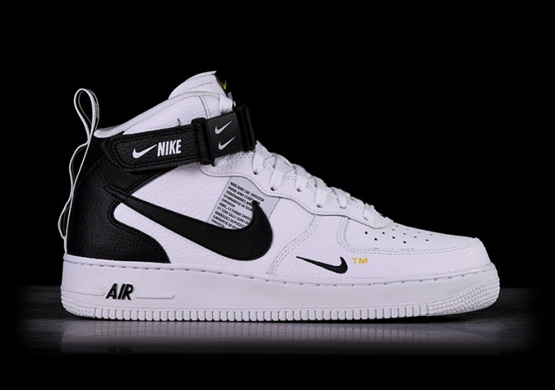 low priced 657a1 4ecde NIKE AIR FORCE 1 MID  07 LV8 UTILITY WHITE