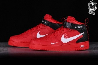 promo code ee344 8e860 NIKE AIR FORCE 1 MID 07 LV8 UTILITY RED