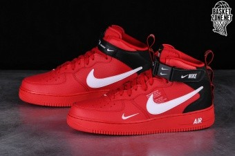 promo code 1f3d1 61c68 NIKE AIR FORCE 1 MID  07 LV8 UTILITY RED