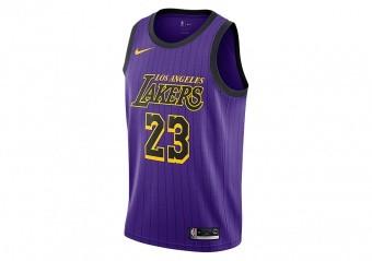 42a6ab715142b T-SHIRTS. NIKE NBA LOS ANGELES LAKERS LEBRON JAMES ...