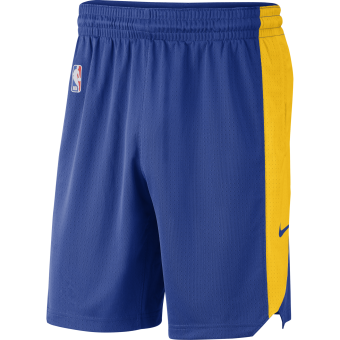 NIKE NBA GOLDEN STATE WARRIORS PRACTICE SHORTS