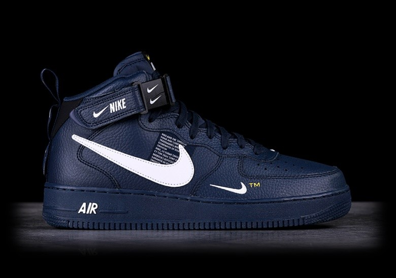 NIKE AIR FORCE 1 MID '07 LV8 OBSIDIAN