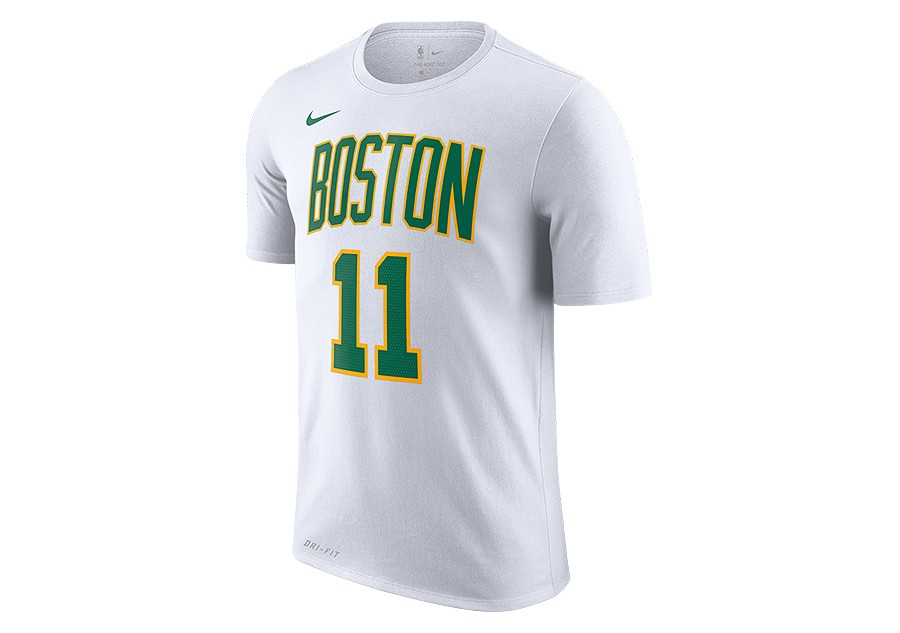 12b4113a NIKE NBA BOSTON CELTICS KYRIE IRVING DRY TEE WHITE per €32,50 |  Basketzone.net