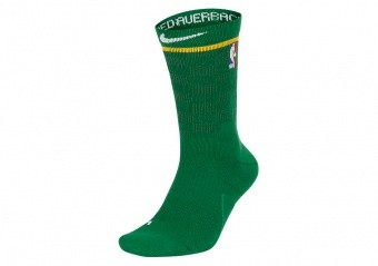 NIKE NBA BOSTON CELTICS ELITE CREW CLOVER