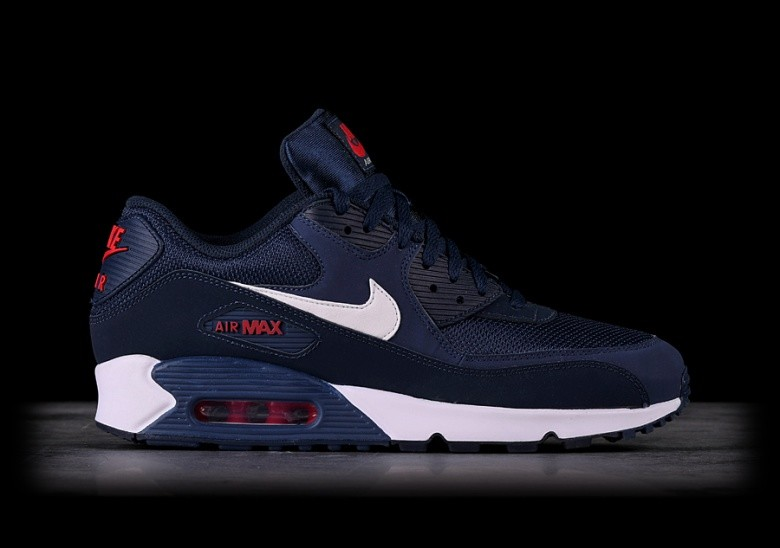 2017 Norge Nike Air Max 90 Dame Running Sko Midnight