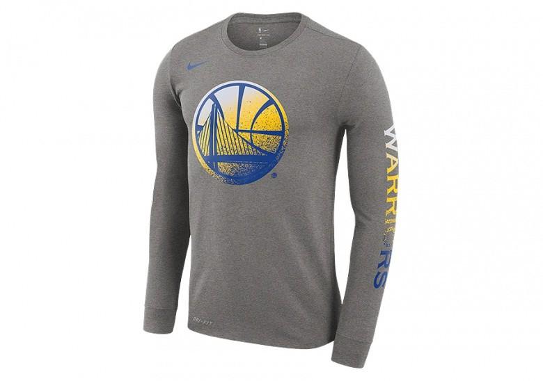 d838d0de865 NIKE NBA GOLDEN STATE WARRIORS DRY TEE DARK GREY HEATHER price ...