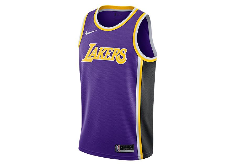 34ba7788ad1 NIKE NBA LOS ANGELES LAKERS SWINGMAN JERSEY FIELD PURPLE price €77.50 |  Basketzone.net
