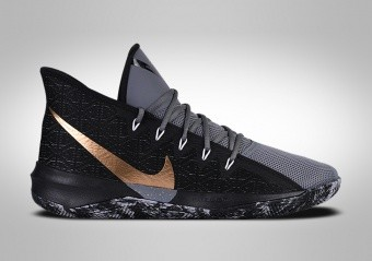 NIKE ZOOM EVIDENCE III BLACK METALLIC GOLD
