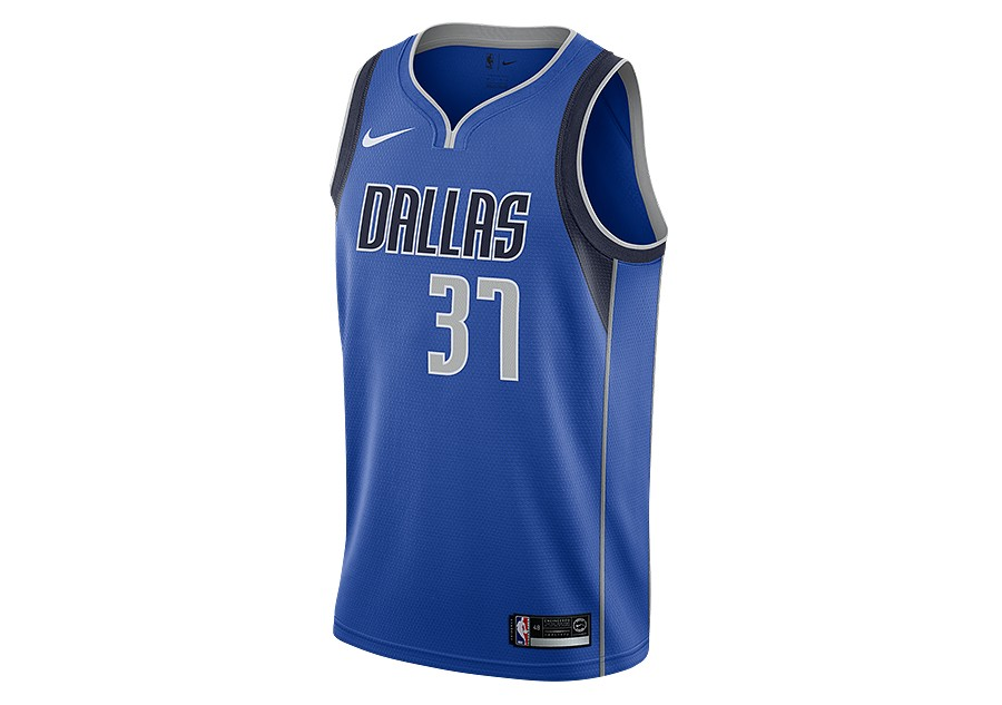 f9205c060c3 NIKE NBA DALLAS MAVERICKS KOSTAS ANTETOKOUNMPO SWINGMAN ROAD JERSEY GAME  ROYAL