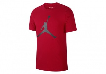 NIKE AIR JORDAN JUMPMAN TEE GYM RED
