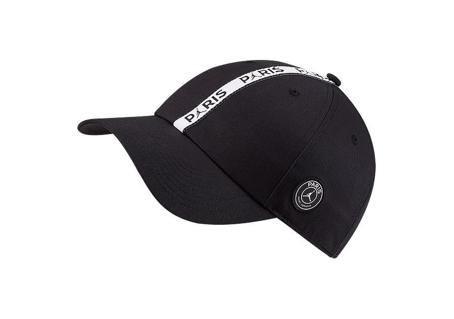 6593fffe5 NIKE AIR JORDAN PSG PARIS SAINT-GERMAIN H86 CAP BLACK price €27.50 ...