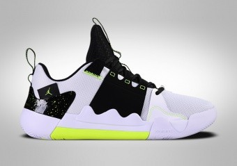 NIKE AIR JORDAN ZOOM ZERO GRAVITY BLACK WHITE VOLT