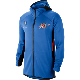 NIKE NBA OKLAHOMA CITY THUNDER THERMAFLEX SHOWTIME HOODIE