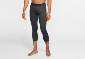 NIKE PRO Dri-FIT 3/4 BASKETBALL TIGHTS ANTHRACITE