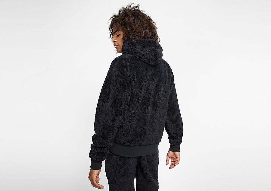 sherpa jordan hoodie