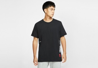 NIKE KYRIE IRVING DRI-FIT TEE BLACK