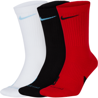 NIKE ELITE CREW 3PACK SOCKS