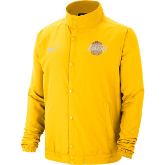 NIKE NBA LOS ANGELES LAKERS LIGHTWEIGHT JACKET AMARILLO