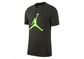 NIKE AIR JORDAN JUMPMAN TEE SEQUOIA