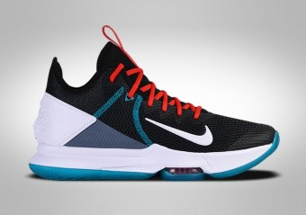 NIKE LEBRON WITNESS IV BLACK GLASS BLUE