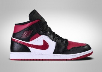 NIKE AIR JORDAN 1 RETRO MID BRED TOE