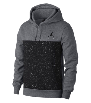 AIR JORDAN FLIGHT FLEECE CEMENT PULLOVER HOODIE