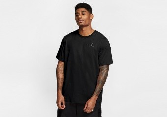 NIKE AIR JORDAN WASHED TEE BLACK