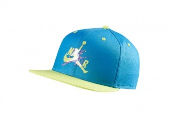NIKE AIR JORDAN PRO JUMPMAN CLASSICS CEMENT HAT EQUATOR BLUE