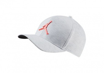 NIKE AIR JORDAN CLASSIC99 METAL JUMPMAN CAP WHITE