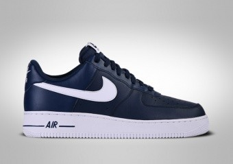 NIKE AIR FORCE 1 LOW '07 AN20 NAVY BLUE