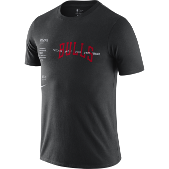 NIKE NBA CHICAGO BULLS WORLD COURTSIDE TEE