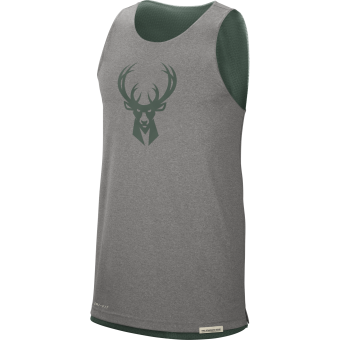 NIKE NBA MILWAUKEE BUCKS STANDARD ISSUE REVERSIBLE TANK