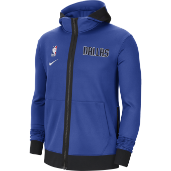 NIKE NBA DALLAS MAVERICK SHOWTIME THERMA FLEX HOODIE