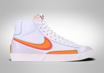 NIKE BLAZER MID '77 RETRO WHITE KUMQUAT
