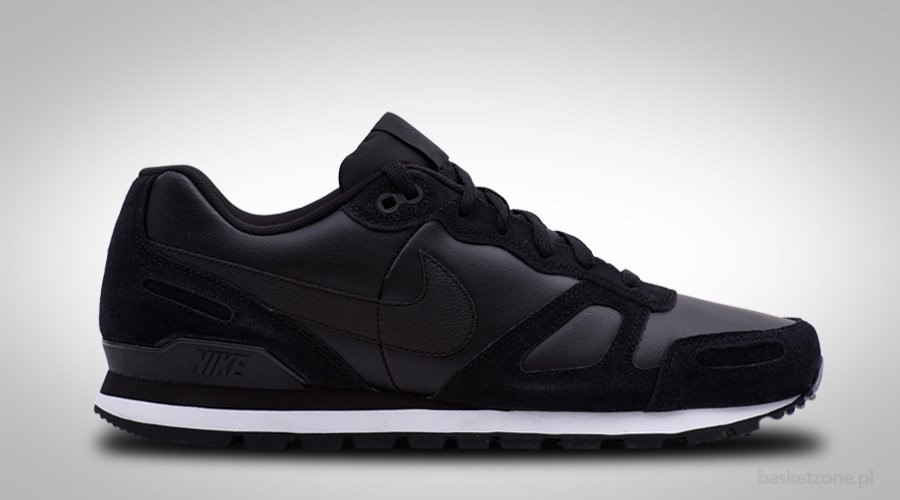 NIKE AIR WAFFLE TRAINER LEATHER BLACK