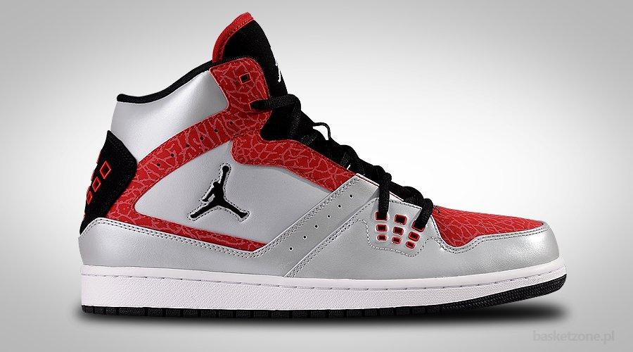Jordan 1 Pour Nike Flight Red Air Black Platinium Cement 7bgf6y