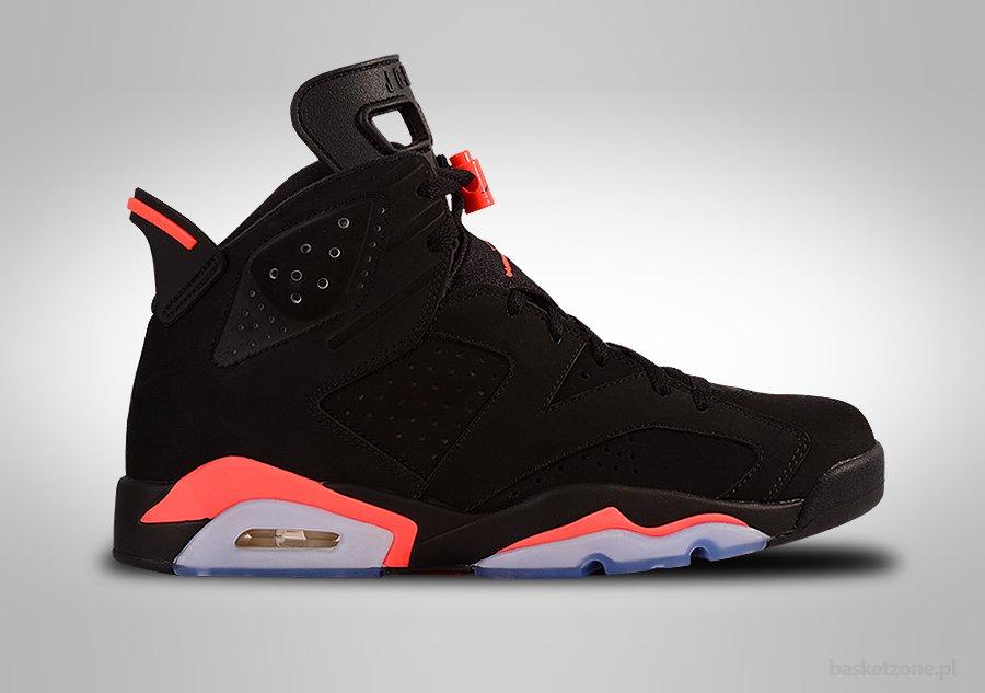 Nike Air Jordan  Vi Mens Shoes Black Red