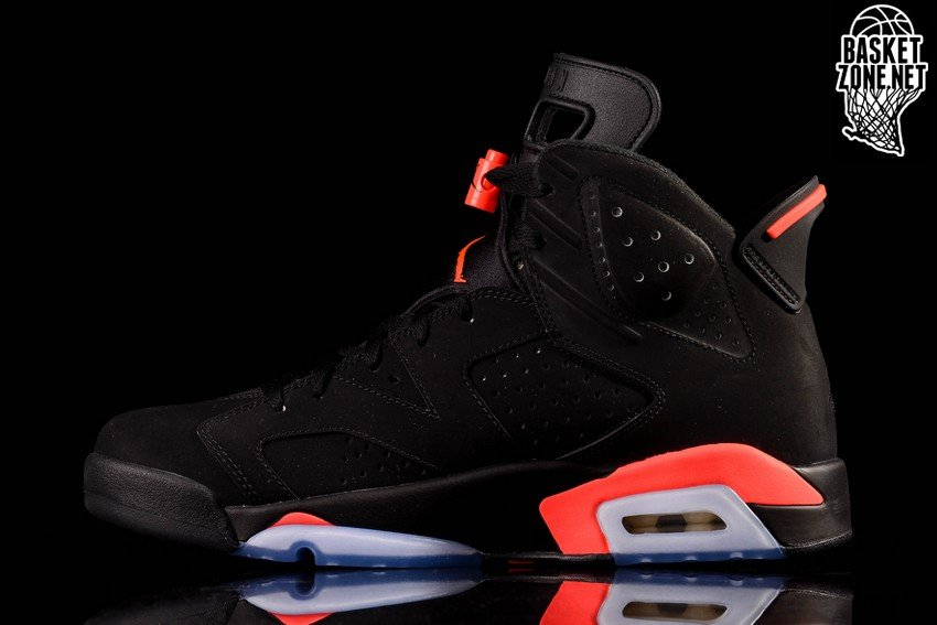 nike air jordan 6 black infrared