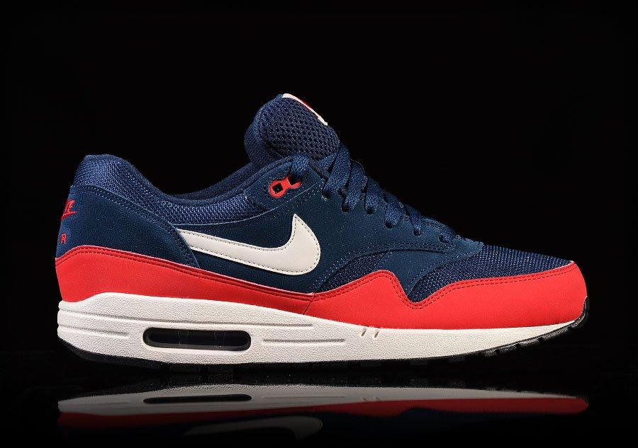 air max 1 blue red