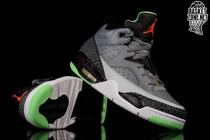 3f7f99c34 ... netherlands nike air jordan son of low cool grey poison green 03092  71d03