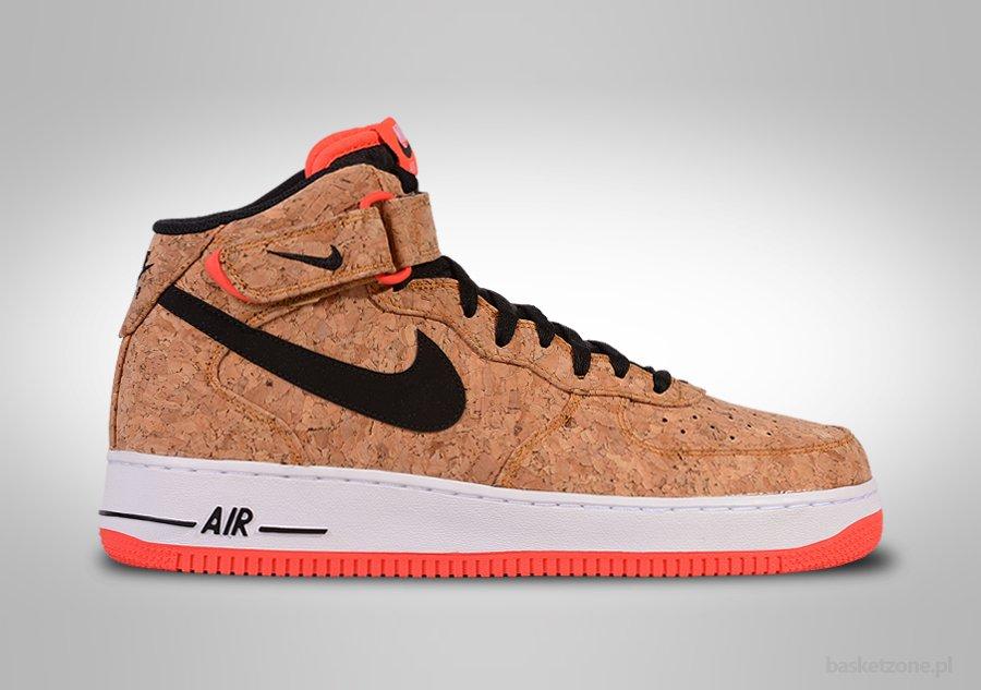 Nike Chaussures 'Air Force', de Sport - Air Force 1 Mid '07 - Taille EUR 46 - Couleur Blanc