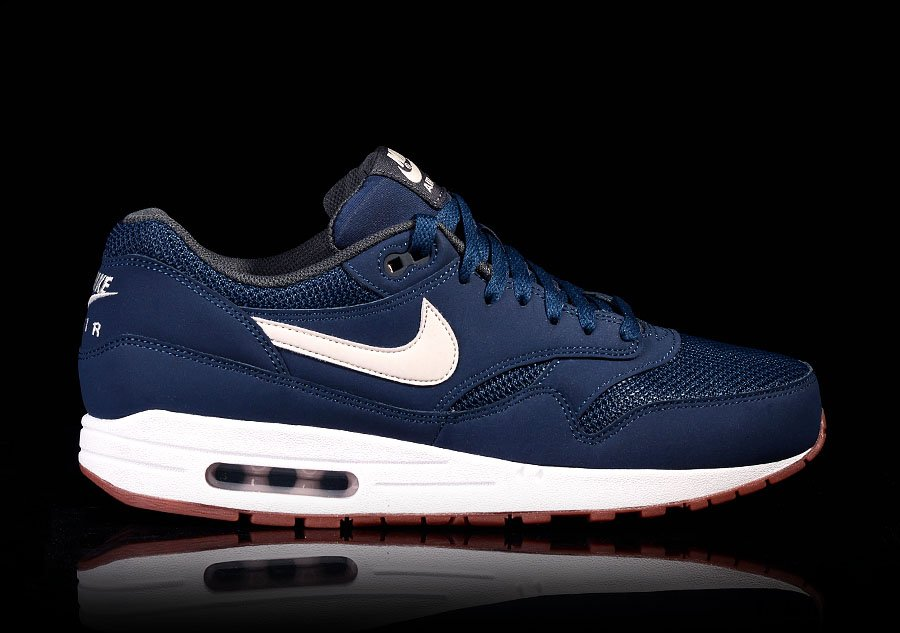 fac4749c10 NIKE AIR MAX 1 ESSENTIAL NAVY LIGHT BONE pour €112,50 | Basketzone.net