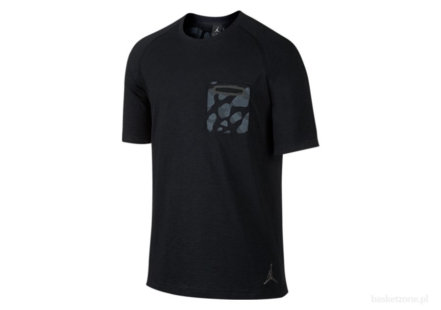 NIKE JORDAN POCKET TEE BLACK